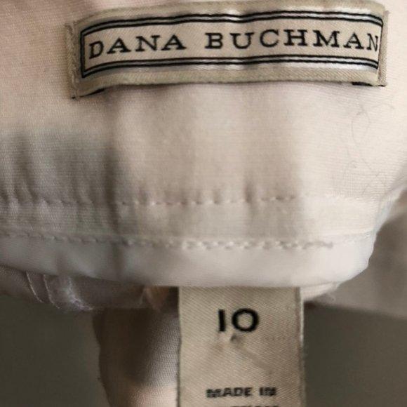 Dana Buchman Pants - Dana Buchman white slacks size 10